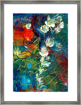 Fairy Dust Framed Print by Nan Bilden