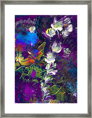 Fairy Dusting Framed Print by Nan Bilden