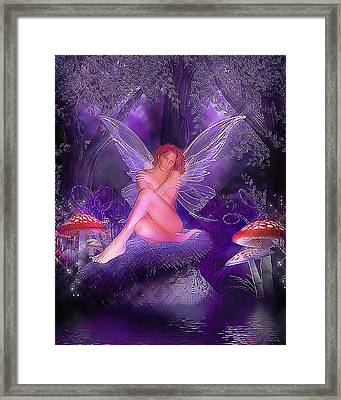 Fairy Fantasy Framed Print by Brian Graybill