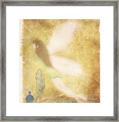 Fairy Folk Magic Framed Print by Sacred  Muse