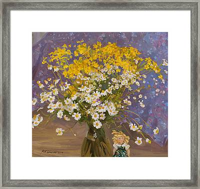 Fairy Forest Framed Print by Victoria Kharchenko