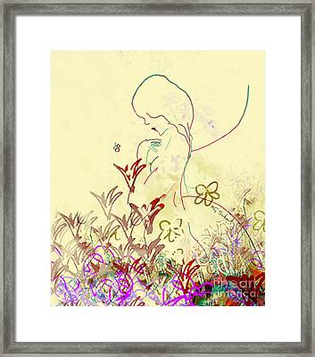Fairy Framed Print by Gabrielle Schertz