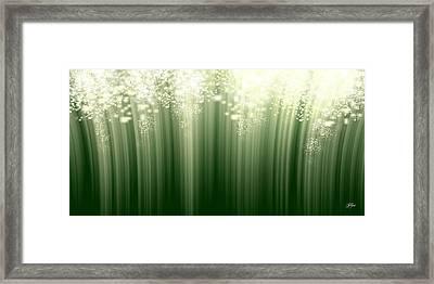 Fairy Grass Framed Print by Lori Grimmett