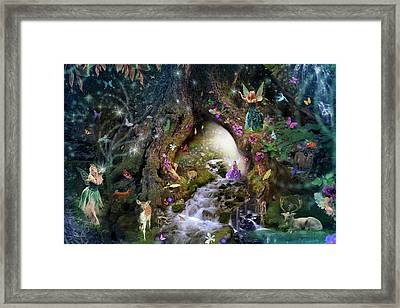 Fairy Hollow Framed Print by Alixandra Mullins