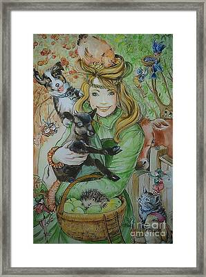 Fairy Hoppert Framed Print
