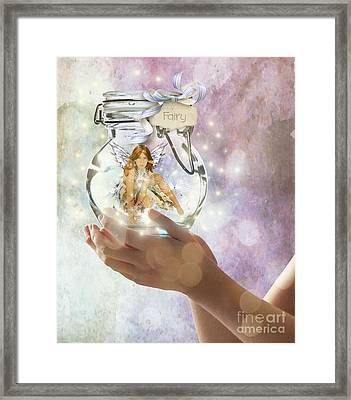 Fairy Framed Print by Juli Scalzi
