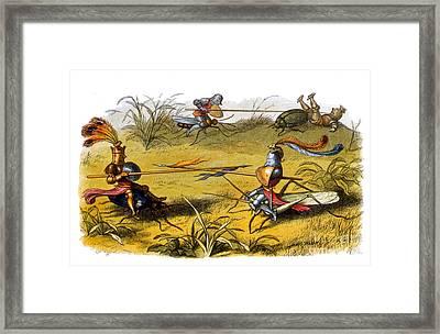 Fairy Knights, Legendary Creatures Framed Print