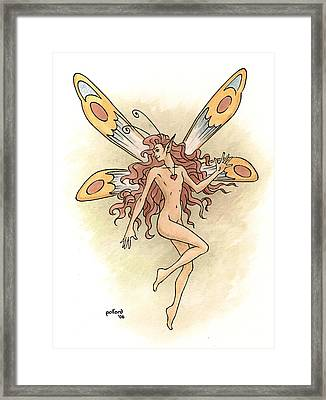Fairy Love Framed Print
