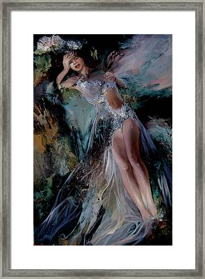 Fairy Framed Print by Nelya Shenklyarska