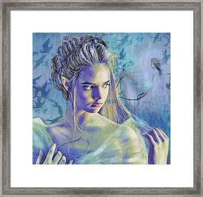 Fairy Queen Framed Print by Jane Schnetlage