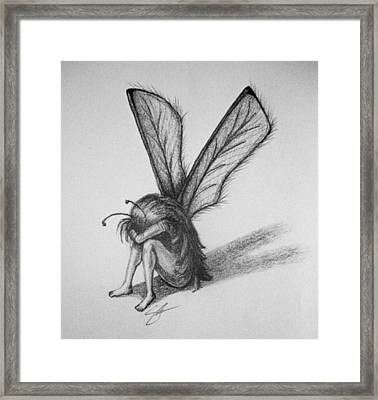 Fairy Framed Print by Sara Coolidge