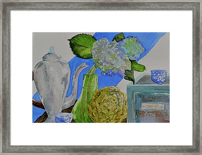 Framed Print featuring the painting Fairy Soda Fine Crackers by Beverley Harper Tinsley