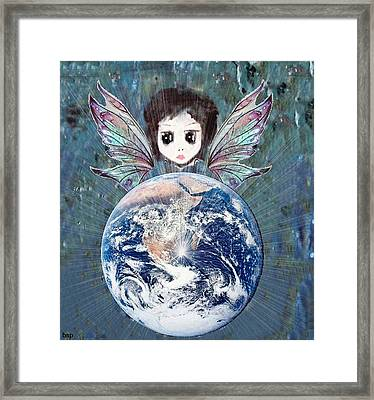 Fairy Star Framed Print by Robert Stagemyer