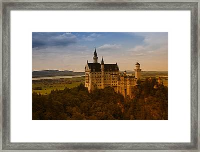 Fairy Tale Castle Framed Print by Miguel Winterpacht