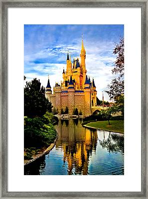 Fairy Tale Twilight Framed Print by Greg Fortier