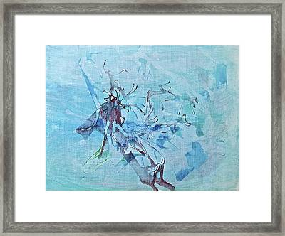 Framed Print featuring the painting Fairy Tales by Tracey Myers