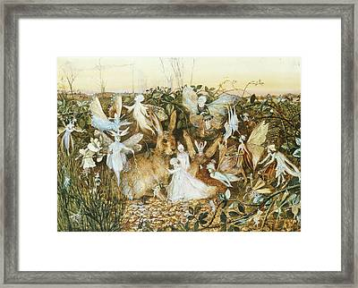 Fairy Twilight Framed Print by John Anster Fitzgerald