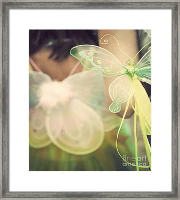 Fairy Wings Framed Print