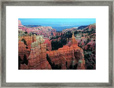 Fairyland, Bryce Canyon National Park Framed Print by Michel Hersen