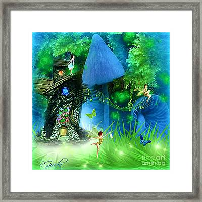 Fairyland - Fairytale Art By Giada Rossi Framed Print