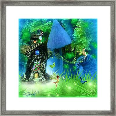 Fairyland - Fairytale Art By Giada Rossi Framed Print by Giada Rossi