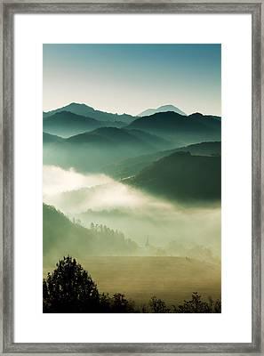 Fairyland Morning Framed Print by Mircea Costina Photography