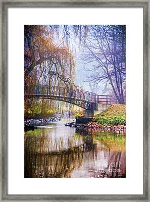 Fairytale Bridge Framed Print