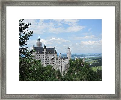 Framed Print featuring the photograph Fairytale Castle by Pema Hou