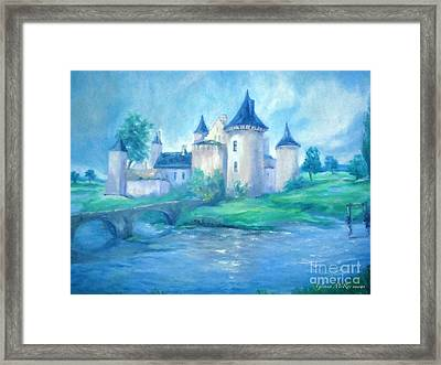Fairytale Castle Where Dreams Come True Framed Print