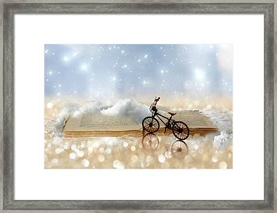 Fairytale Framed Print by Heike Hultsch