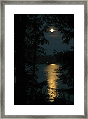 Fairytale Moon Framed Print by RJ Martens