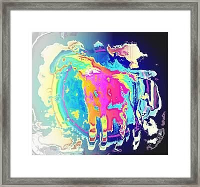 I Wanna Ride The Fairytale Pony Framed Print