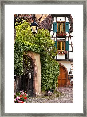 Fairytale Village Framed Print