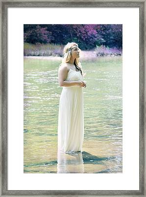 Fairytales And Fireflies Framed Print by Chastity Hoff