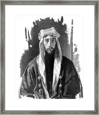 Faisal I (1883-1933) Framed Print by Granger
