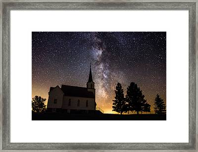 Faith Framed Print by Aaron J Groen