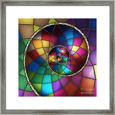 Faith Catcher Framed Print by Shawn Young