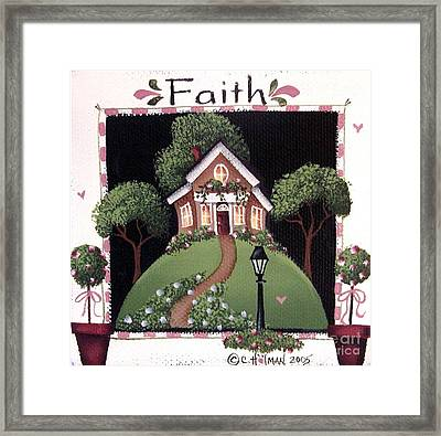 Faith Framed Print by Catherine Holman
