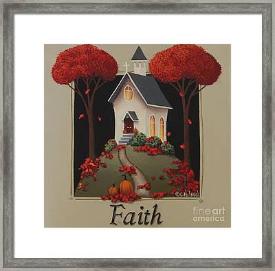 Faith Country Church Framed Print