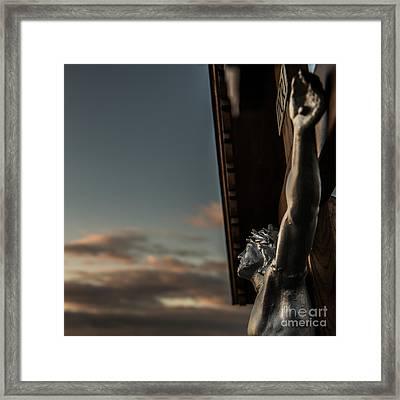 Faith Framed Print by Hannes Cmarits