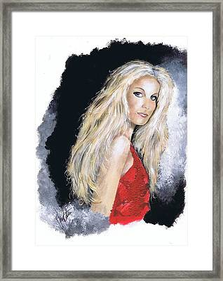 Faith Hill Framed Print