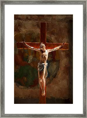 Faith Hope Love Framed Print by Steve K
