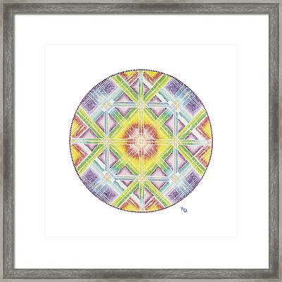 Faith In Life Framed Print by Vanda Omejc