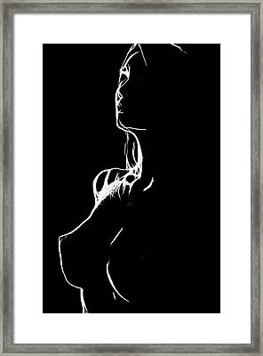 Faith In Love Framed Print by Steve K