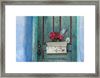 Faith In The Barrio Framed Print
