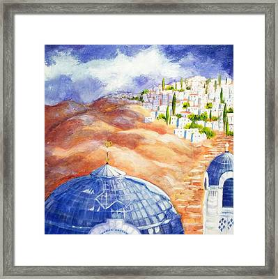 Faith Journey Framed Print by Betty M M   Wong