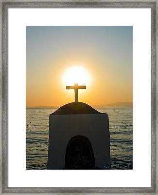 Framed Print featuring the photograph Faith by Leena Pekkalainen