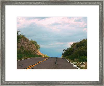 Faith Framed Print by Lin Haring