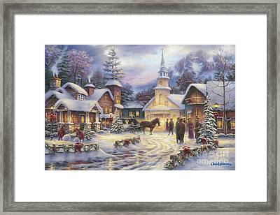 Faith Runs Deep Framed Print
