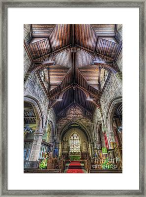 Faith Shines For You Framed Print by Ian Mitchell